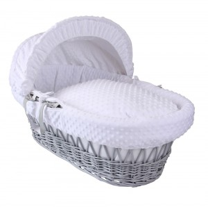 grey moses basket