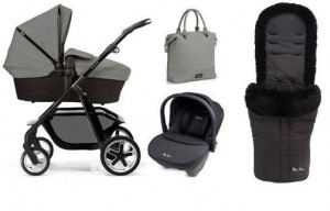 pioneer eton with car seat and footmuff